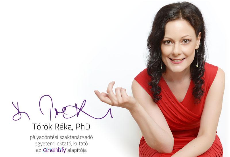 Dr. Török Réka, az Orientify alapítója